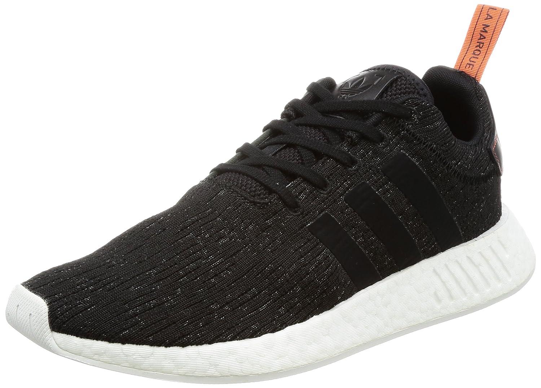 Adidas NMD_r2, Zapatillas de Deporte para Hombre 42 EU|Varios Colores (Core Black/Core Black/Future Harvest F10)