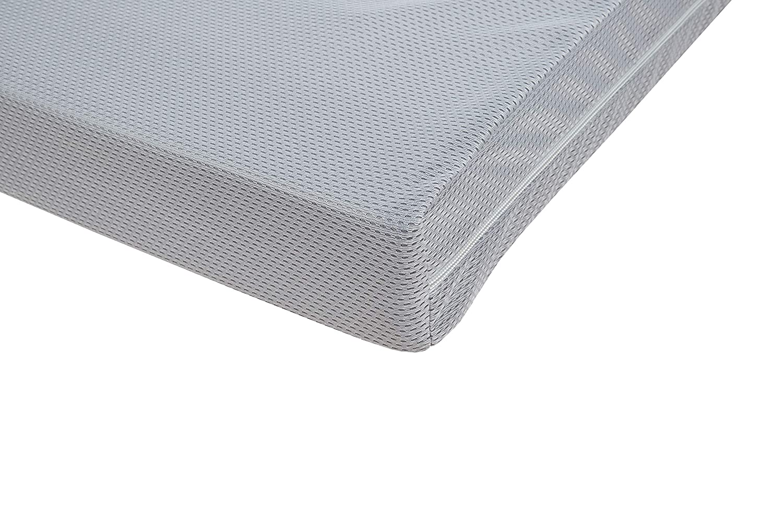 Trittkante Babybettmatratze gelocht 60x120x9 cm Kinderbettmatratze mehrfach safe asleep von roba Babybettmatratze AIR BALANCE PREMIUMMESH atmungsaktives 3D Material f/ür optimales Schlafklima