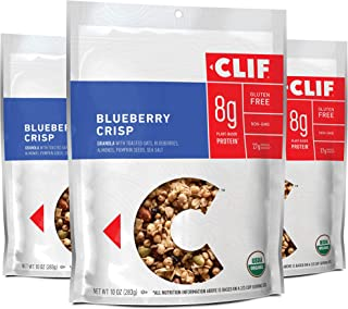 product image for CLIF BAR Organic Gluten Free Granola - Blueberry Crisp - (10 Ounce Bag, 3 Count) (Packaging May Vary)