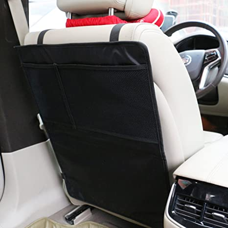 Anti Stepped Dirty Car Safety Seat Back Cover Rear Protector Kids Kick Mat Pad