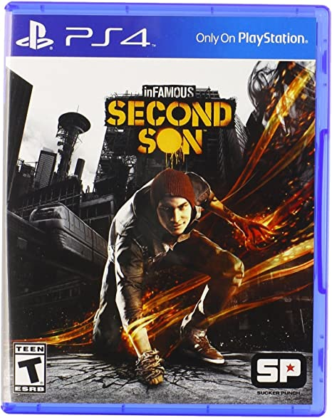 Sony inFAMOUS Second Son PS4 Básico PlayStation 4 vídeo - Juego ...