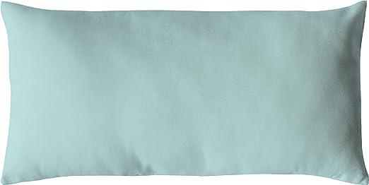 Enjoy Home cojín 30 x 60, 400 g de algodón Verde de Agua 30 ...
