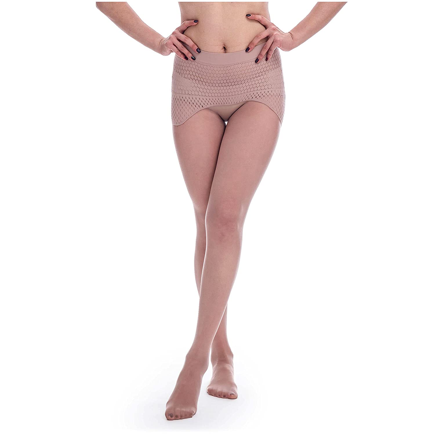 35e42397ec77b ElsaYX 8D Women's Sheer Seamless Pantyhose Tights at Amazon Women's  Clothing store: