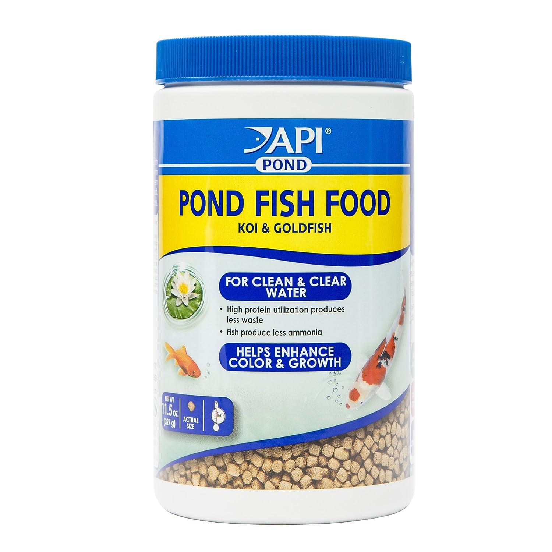 11.5 oz API Pond Fish Food Pond Fish Food 11.5-Ounce Bag