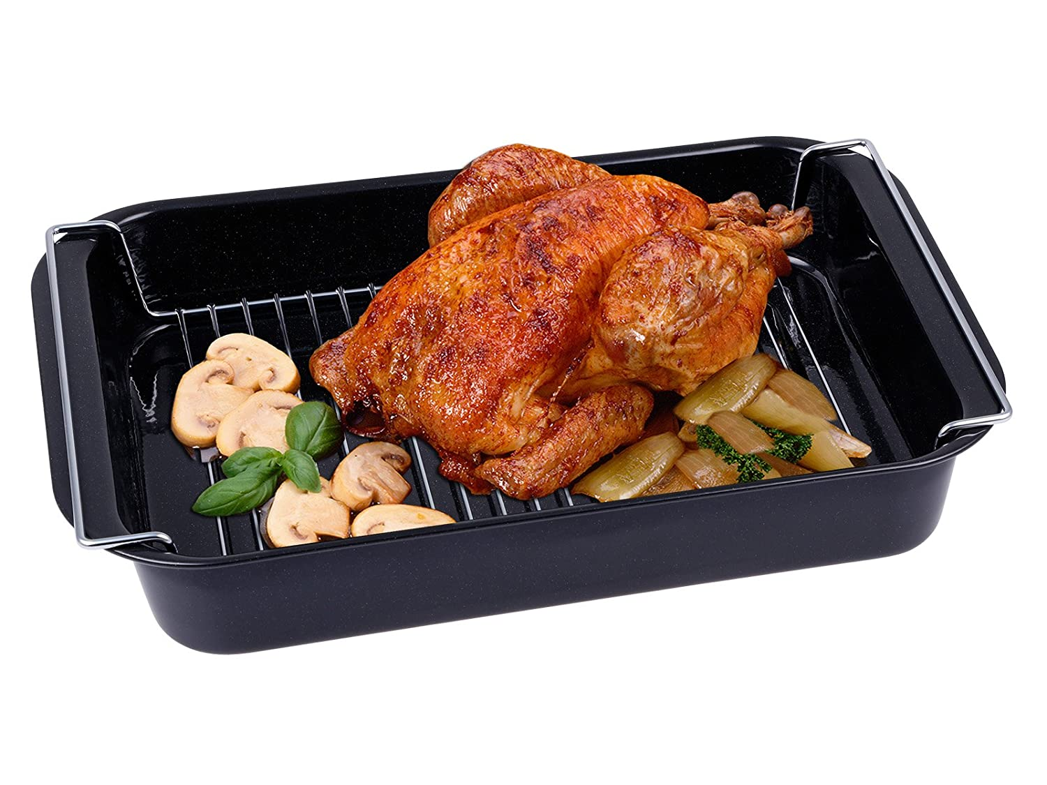 chg 9911-05 Chicken Roasting Tray with Grill Insert