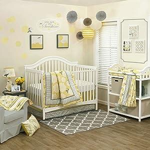 Stella 4 Piece Baby Crib Bedding Set by The Peanut Shell
