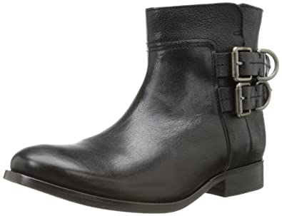 FRYE Women's Molly D Ring Short Boot, Black, ...