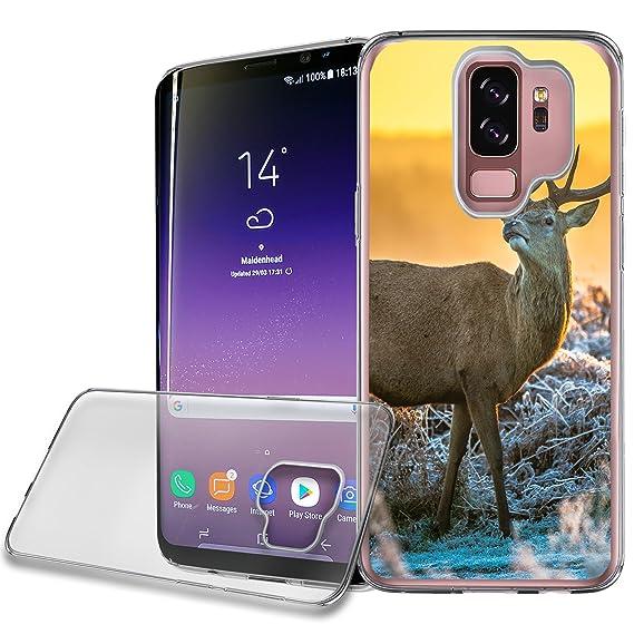 Cas De Zèbre Conception De Silicone Pour Samsung Galaxy S9 FC6hCJe