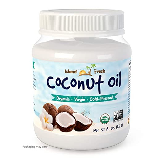 The Island Fresh Superior Organic Virgin Coconut Oil travel product recommended by Sarah Stuart on Pretty Progressive.