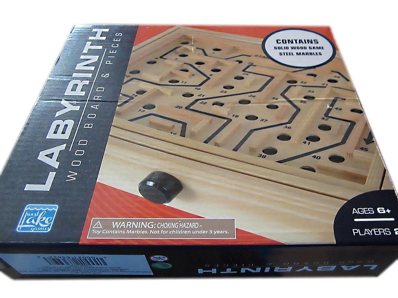 Promoción por tiempo limitado Labyrinth Wood Board  Pieces by WEST LAKE GAMES