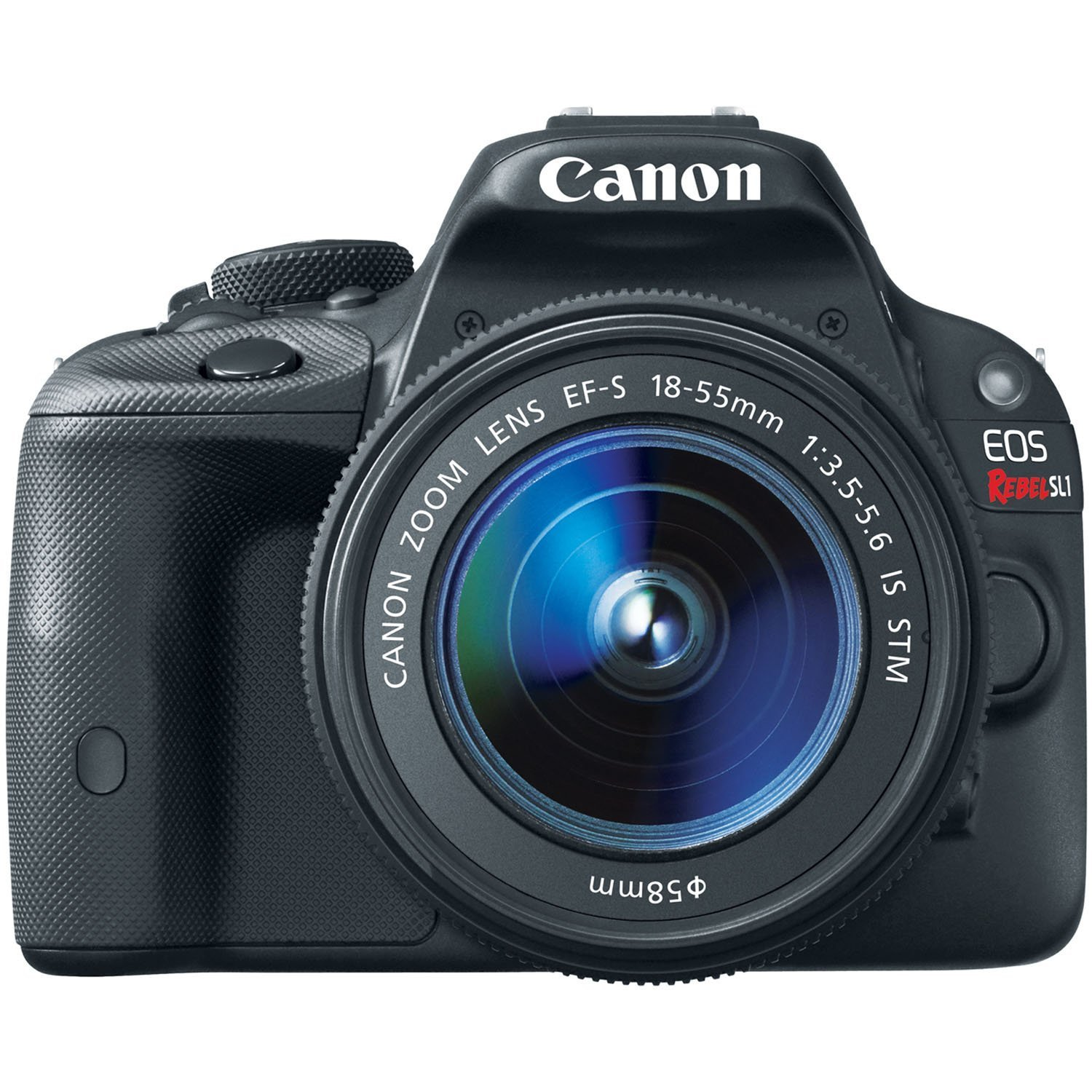 Canon EOS Rebel SL1 Digital SLR with 18-55mm STM Lens (Certified Refurbished)