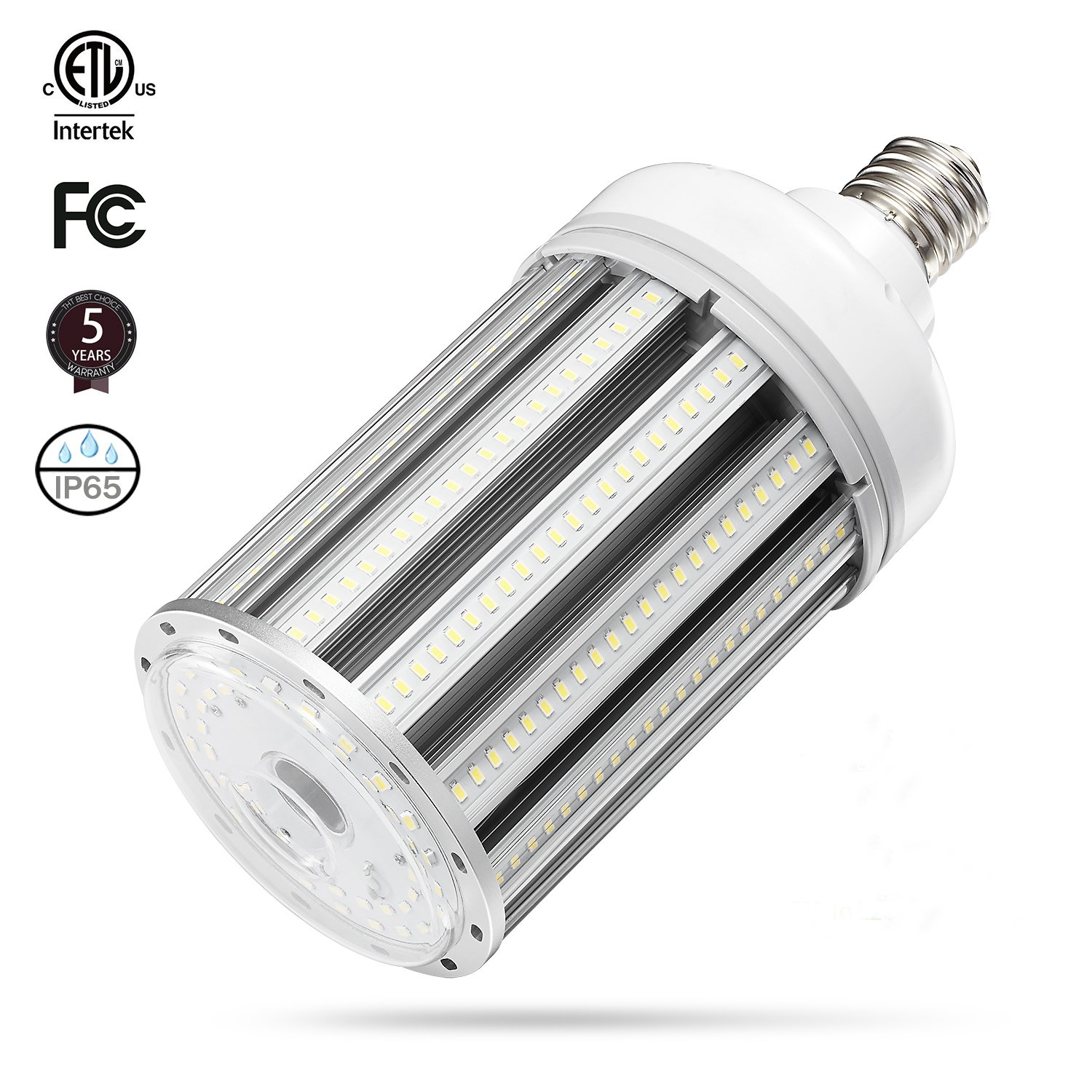 120w Led Corn cob Light Bulb E39 Base, 5000K 15600lm AC100-277V,CFL HID HPS Metal Halide(500w) Replacement for Street and Area Light Factory Warehouse High Bay Work Light Parking Lot Super
