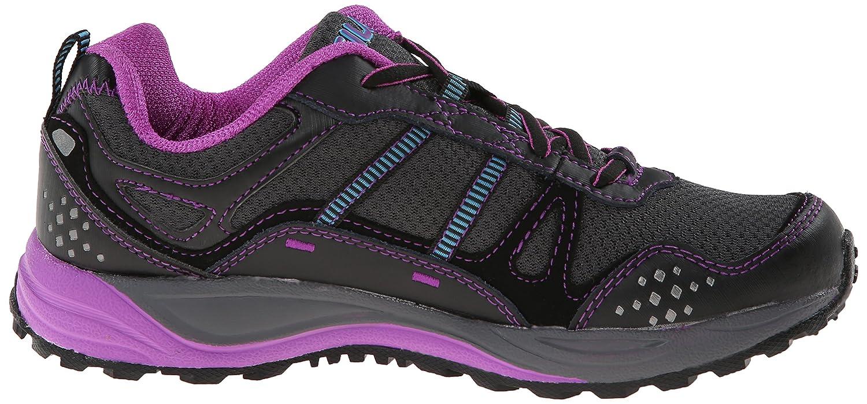 Fila Women's Statique Running Shoe B00KL3YYTY 7.5 B(M) US Dark Shade/Black/Purple Cactus Flower