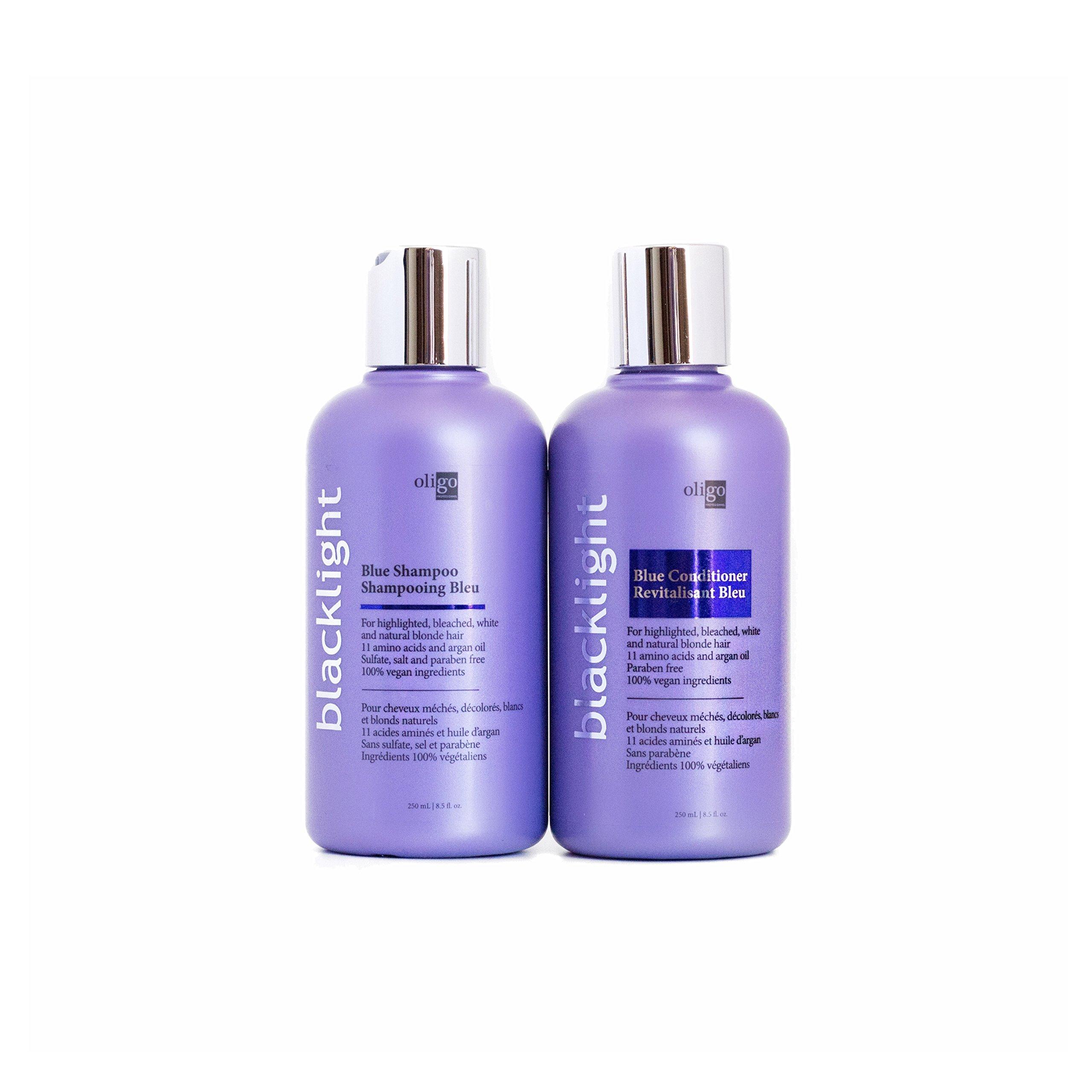 Oligo Professionnel Blacklight Blue Shampoo & Conditioner 8.5oz Duo Bundle by Oligo Professionnel