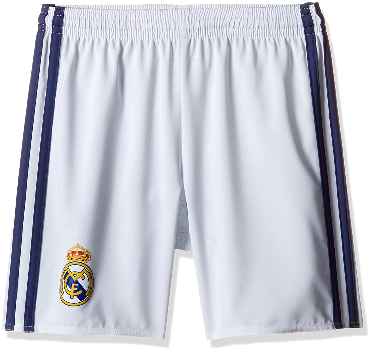 2016-2017 Real Madrid Adidas Home Shorts (White) - Kids AI5202