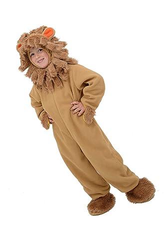 Traje 6-7 años león