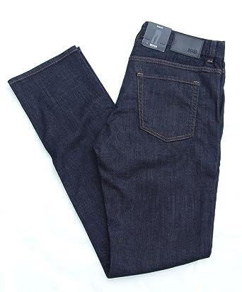 Hugo Boss Jeans Mens Kentucky Slim Fit Dark Blue Waist 34