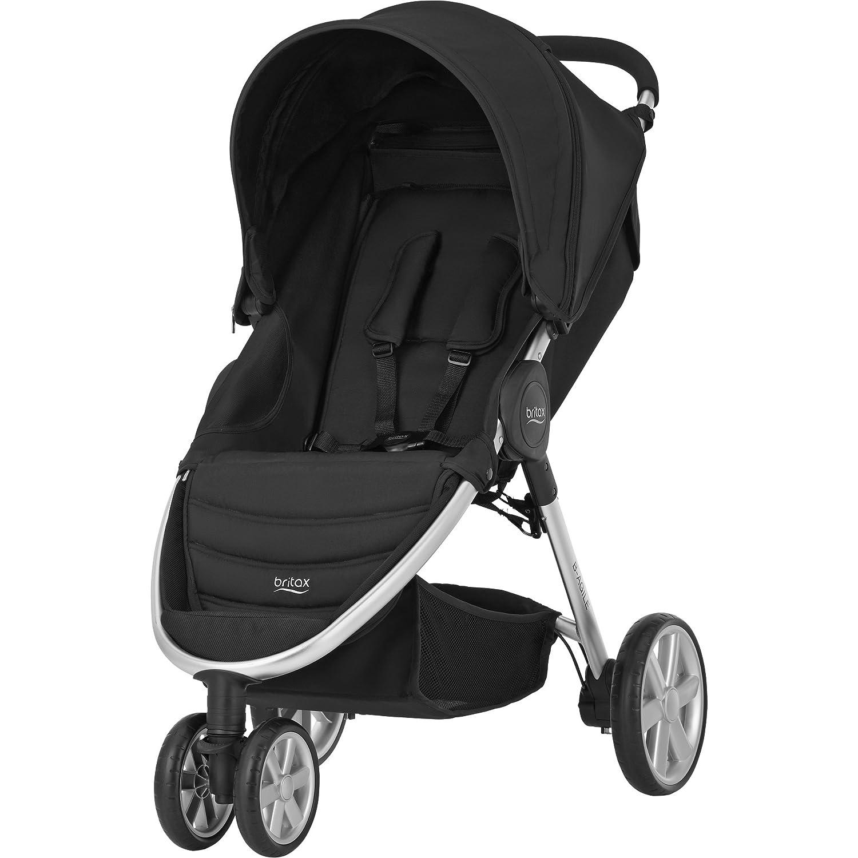 Britax B-AGILE 3 Pushchair (Birth-15kg|4 Years) - Cosmos Black 2000023120