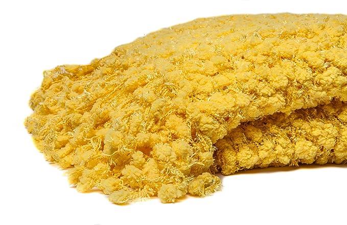 Amazon.com: Chanasya decorativo Woven palomitas de maíz ...
