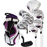 Believe Ladies Complete Golf Set - Purple - Right-Handed