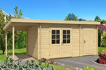 Atril tejado jardín casa Greta de 40 con Cultivo & schlepp techo ISO impregnación a partir