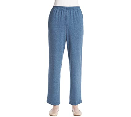 fcd140489f4cf Alfred Dunner Stretch Sweatpants at Amazon Women s Clothing store