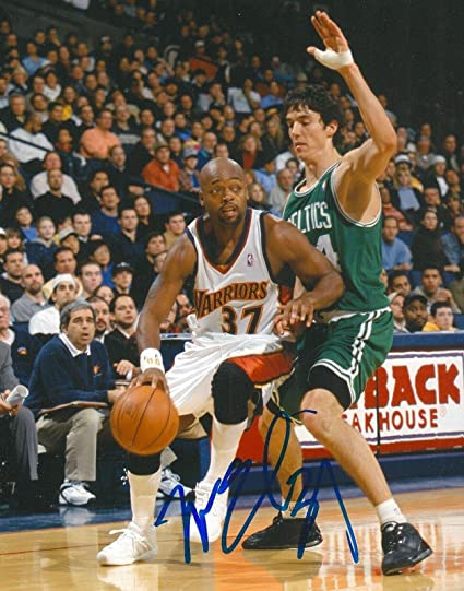 513f0404c85 Nick Van Exel Autographed Photograph - GOLDEN STATE WARRIORS 8X10 COA -  Autographed NBA Photos