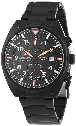 c91abecc69f4 Swiss Military Hanowa AIRBORNE Chrono - Reloj Analógico de Cuarzo para  Hombre