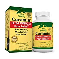 Terry Naturally Curamin Extra Strength - Non-Addictive Pain Relief Supplement with...