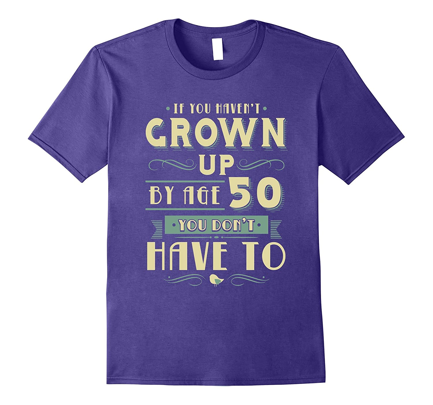 50th Birthday T-Shirt for 50 Year Old Man or Woman-CD