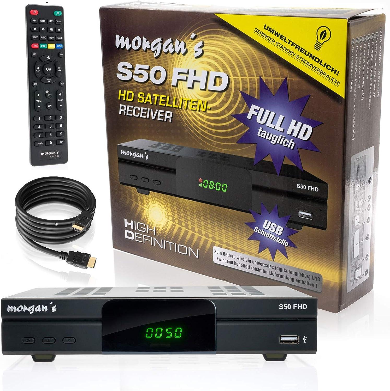 Comag SL 40 HD - Receptor de TV por satélite (conexión HDMI ...