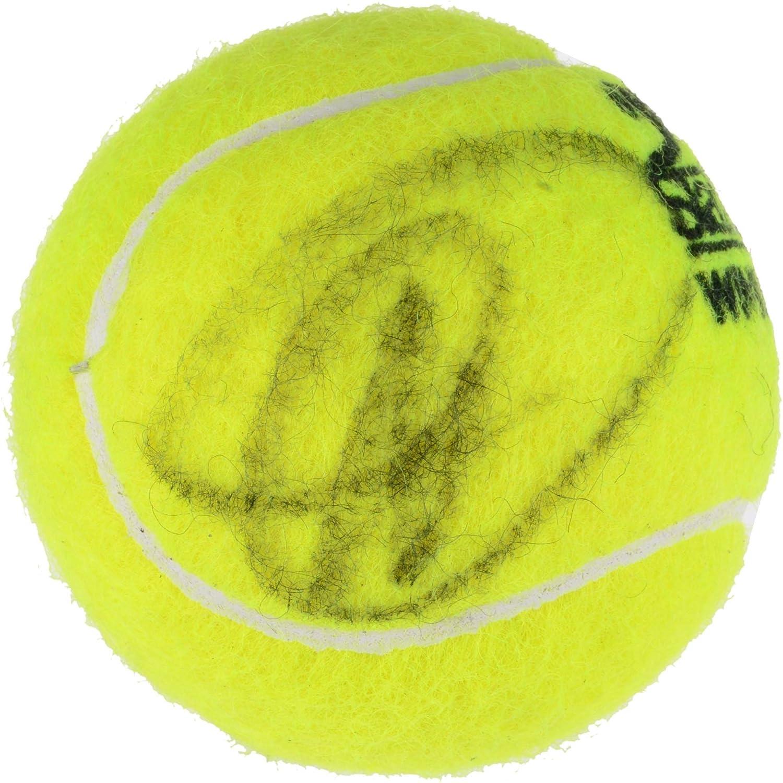 Novak Djokovic Autographed Slazenger Wimbledon Tennis Ball - Fanatics Authentic Certified - Autographed Tennis Balls
