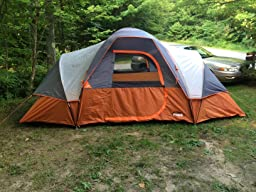 Amazon Com Core 9 Person Extended Dome Tent 16 X 9