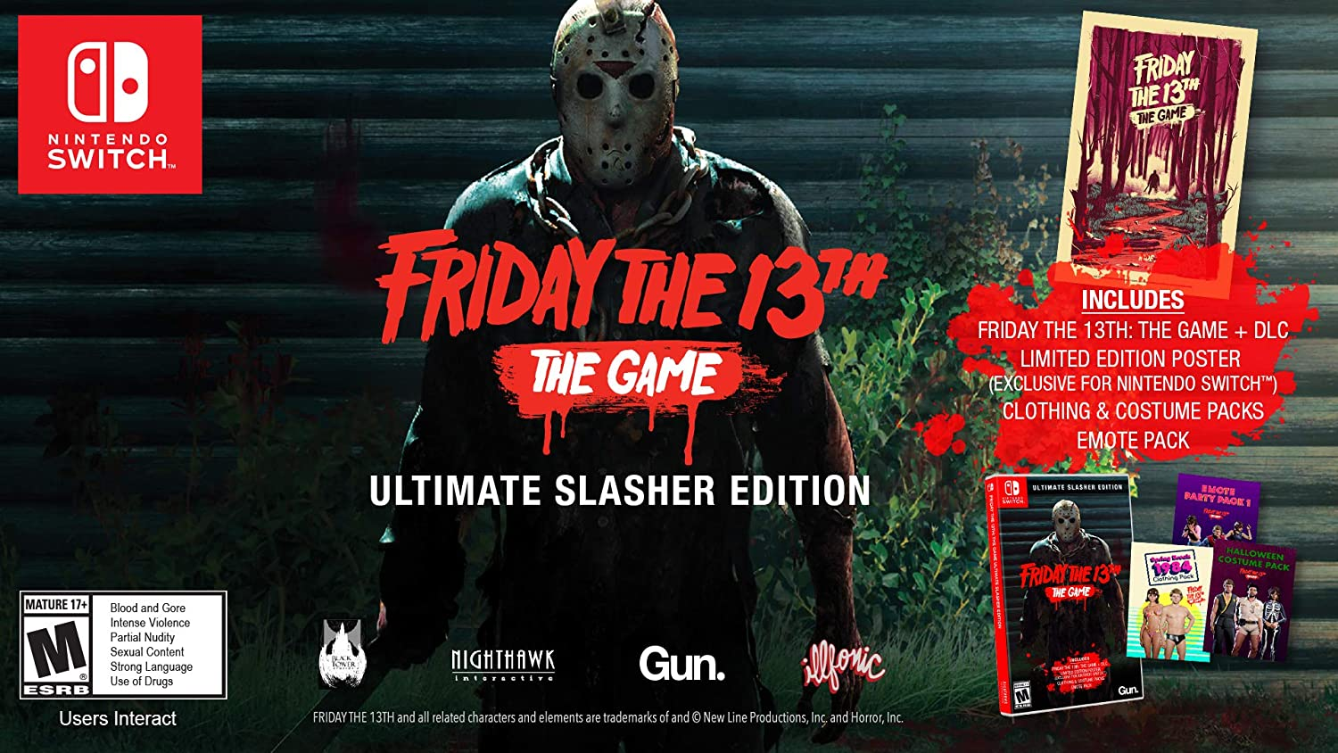 Amazon.co.jp: Friday the 13th: The Game Ultimate Slasher Edition ...