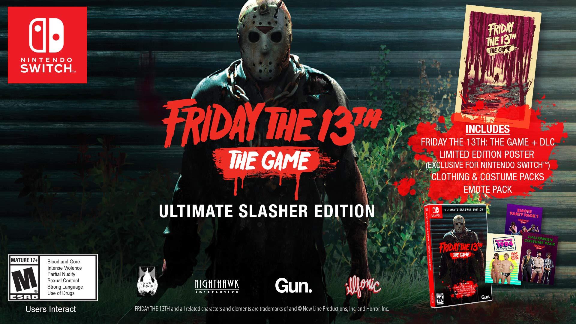 Amazoncom Friday The 13th Game Ultimate Slasher Edition