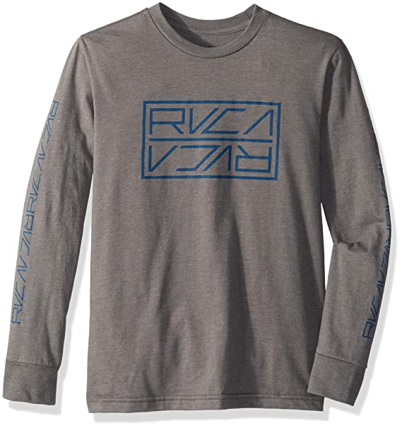 c18a3424 Amazon.com: RVCA Boys' Big Reflector Long Sleeve Tee: Clothing