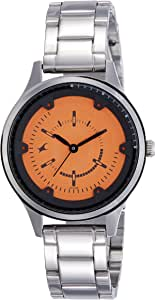 Fastrack Casual Watch for Women , Stainless Steel - 6138SM02