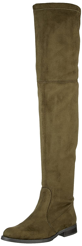 Buffalo London 2870 Micro Strech, Botas para Mujer Verde (Khaki 13)