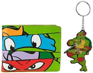 Teenage Mutant Ninja Turtles Monedero BIO-XW15RTTMT Verde ...