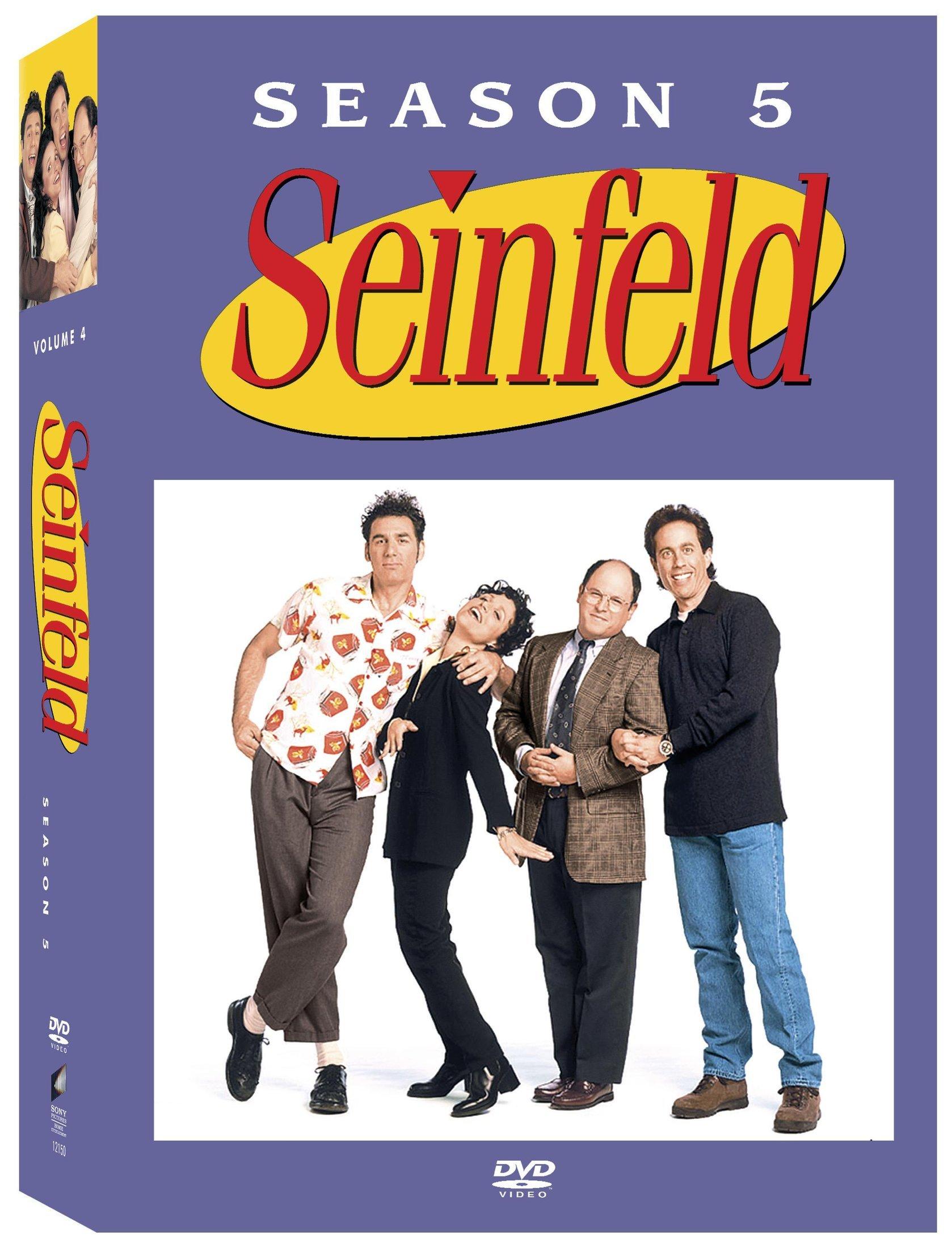 DVD : Seinfeld: The Complete Fifth Season (Boxed Set, Full Frame, , 4 Disc)
