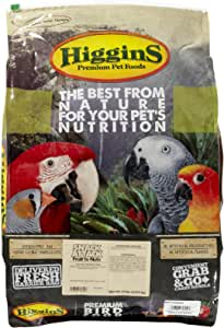 Higgins 466702 Higg Avian Fruit To Nut Treat For Birds, 20-Pound