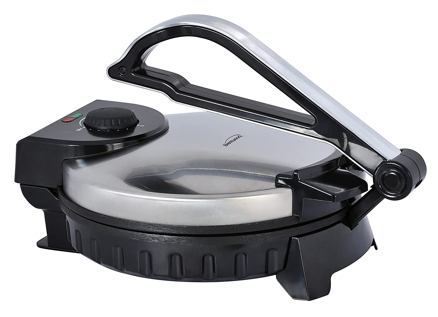 Amazon.com: Brentwood TS-128 Electric Tortilla Press, Silver: Kitchen & Dining