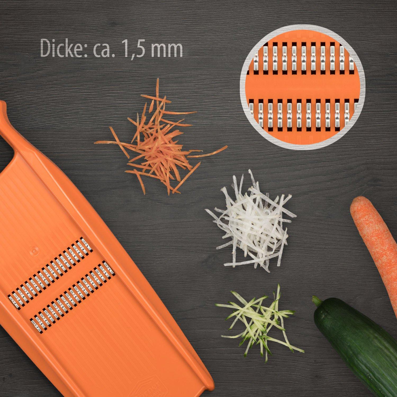 Börner Reiben-Set Spezial in grün - Küchenhelfer - - - Entsafter - Schäler - Grater B01KHD9QJK Hobel & Reiben 2d79de