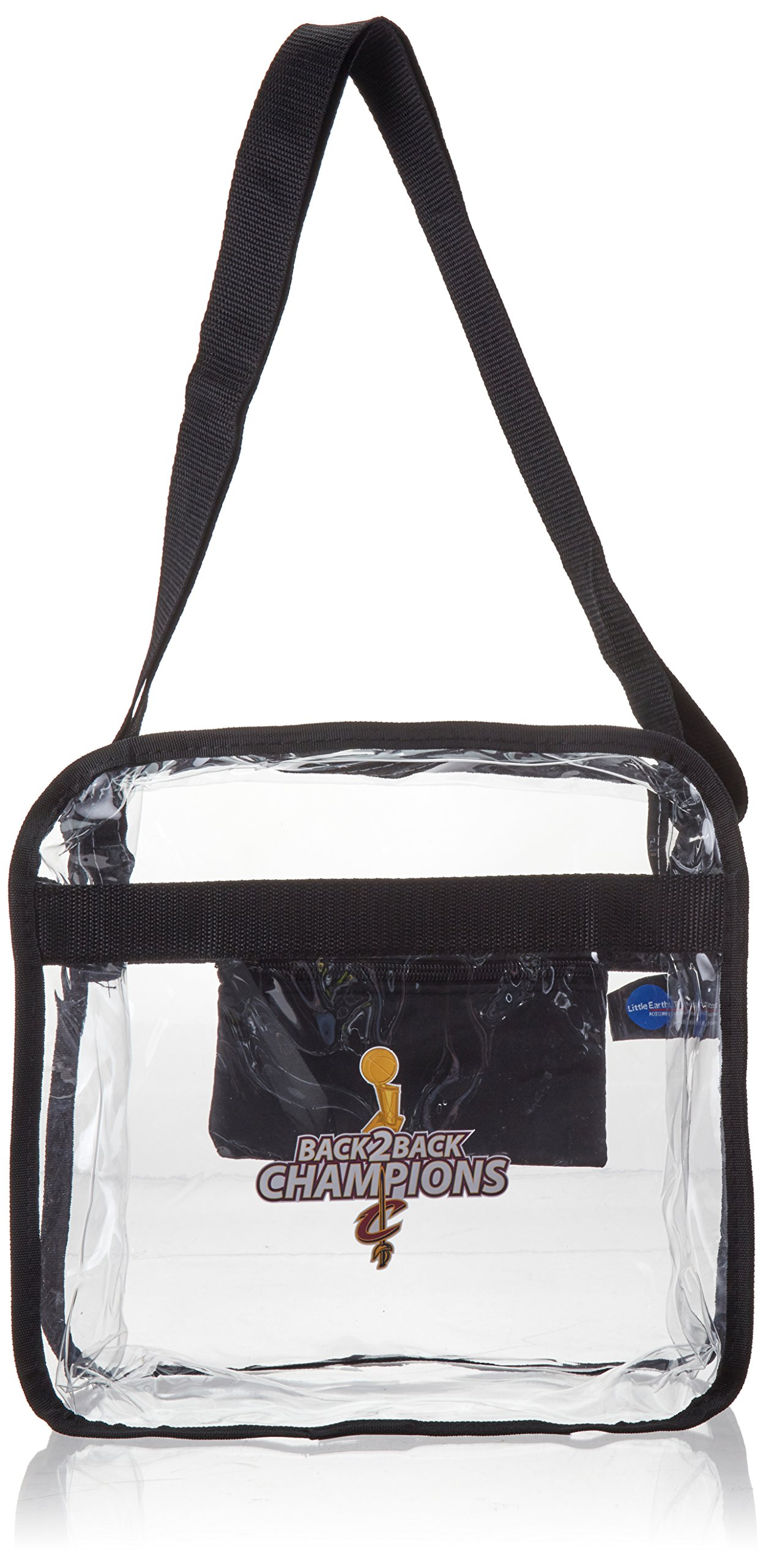 Littlearth NBA Cleveland Cavaliers Clear Square Stadium Tote