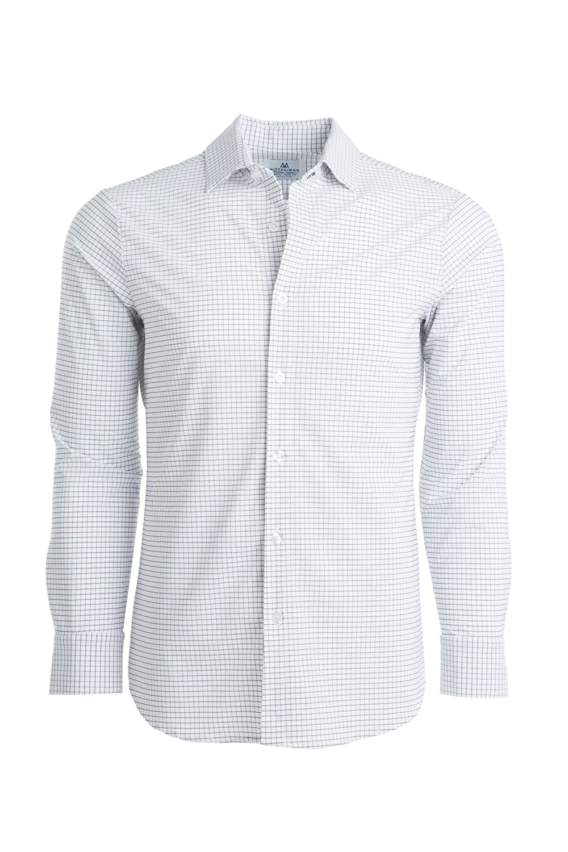 Amazon Mizzen Main Leeward Trim Fit Mens Button Down Shirt