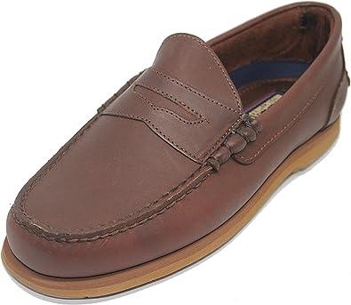 Sobrevivir Pensativo ligero  Zapato Náutico Mocasín Slipon Penny TIMBERLAND Color Marrón para Hombre:  Amazon.es: Zapatos y complementos