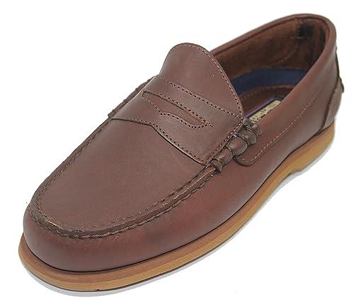 Zapato Náutico Mocasín Slipon Penny TIMBERLAND Color Marrón para Hombre: Amazon.es: Zapatos y complementos
