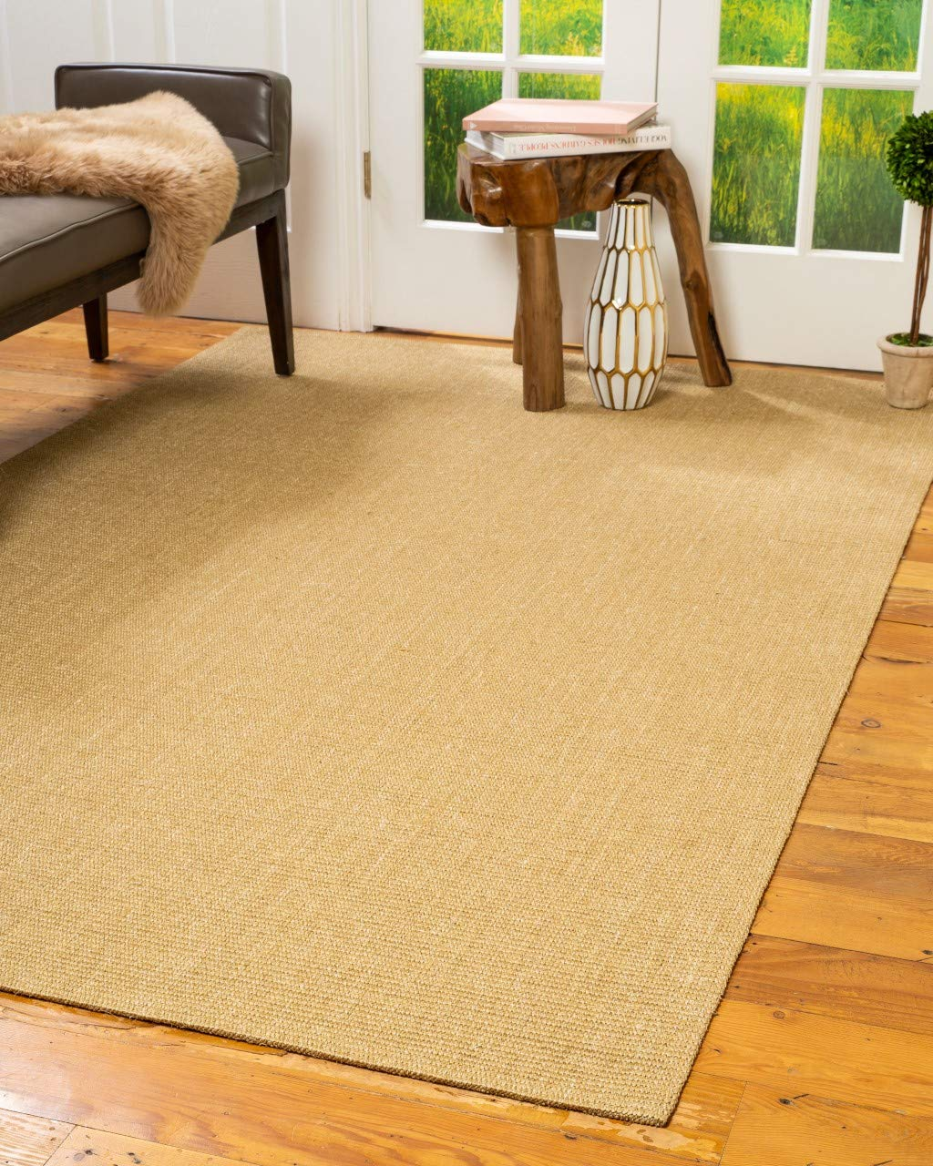 Natural Area Rugs Natural Fiber Tribeca Beige Sisal Rug, 5 x 8