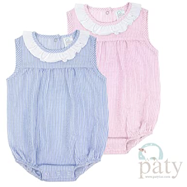 cea00fbf92f8b Amazon.com: Paty Children's Apparel Seersucker Sleeveless Bubbles ...