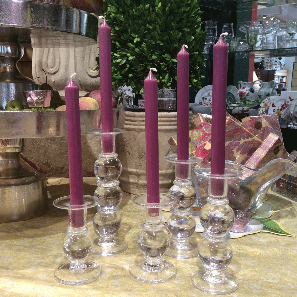Caspari Lot de 12 bougies non parfum/ées sans coulures et sans fum/ée Ivoire 25,4 cm